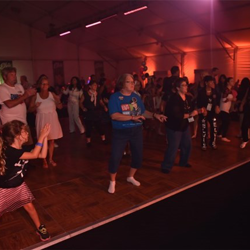Elvis fans danced the night away at the Elvis Sock Hop.