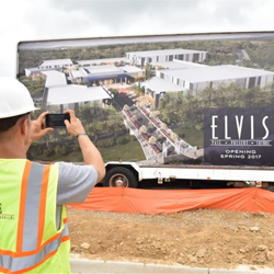 The Elvis: Past, Present & Future entertainment complex was announced during Elvis Week.