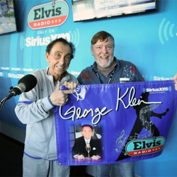 George Klein and Big Jim Sykes kept the Elvis music playing on Sirius XM Elvis Radio.