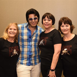 Fans had the chance to meet and greet with the Ultimate ETA Contest Finalists, like Bruno Nesci, and past winners during Elvis Week.