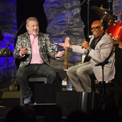 Tom Brown interviewed songwriter and producer David Porter during the Elvis Connection panel.