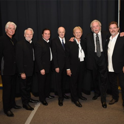 Terry Blackwood and the Imperials and former members of J.D. Sumner and the Stamps Quartet performed at the gospel event.