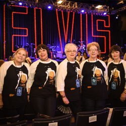 Fans from across the world cheered on their favorite tribute artists at the Ultimate Elvis Tribute Artist Contest.