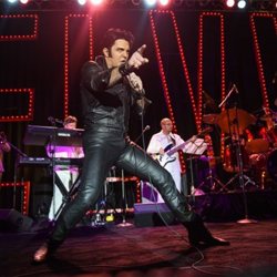 Ryan Pelton was a top 10 finalist in the Ultimate Elvis Tribute Artist Contest.