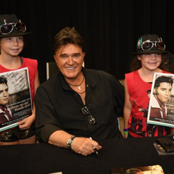 TG Sheppard signed autographs for fans following Conversations on Elvis: Connections.