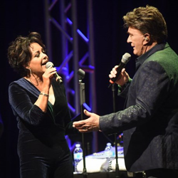 Elvis helped launch the career of country star TG Sheppard. He performed at the hotel with his wife, Kelly Lang.