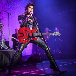 Cody Slaughter performed at ELVIS: The Greatest Hits Ultimate Elvis Tribute Artist Show.