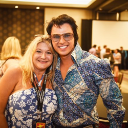 Our Ultimate Elvis Tribute Artist Contest Semifinalists met with fans at The Guest House at Graceland.
