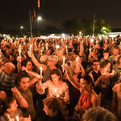 Thousands of fans attend the vigil each year.