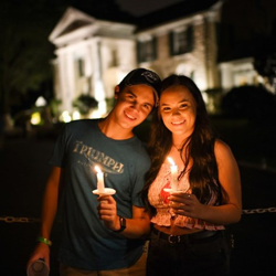 The annual Candlelight Vigil gives fans the chance to honor Elvis