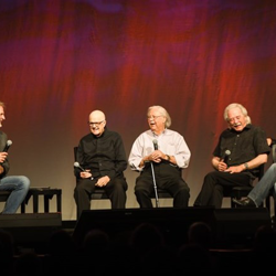 Former members of JD Sumner & The Stamps Quartet brought stories and laughs to the panel.