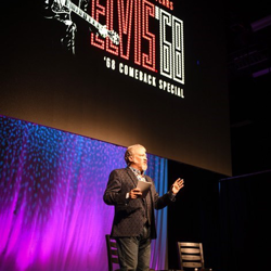 Tom Brown hosted all of the Conversations on Elvis panels.