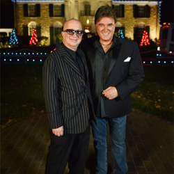 Paul Shaffer and T.G. Sheppard also toured Graceland.