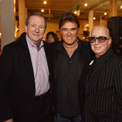 Graceland CEO Jack Soden, T.G. Sheppard and Paul Shaffer celebrated the holiday season at the Lighting Ceremony.