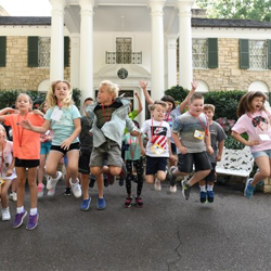The Performing Arts Camp experience also included a Graceland tour.