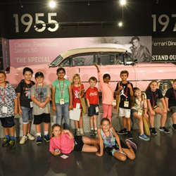 The Pink Cadillac was a favorite during the campers