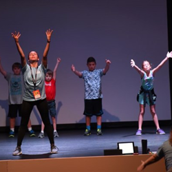The first-ever camp focused on singing, acting and dancing.
