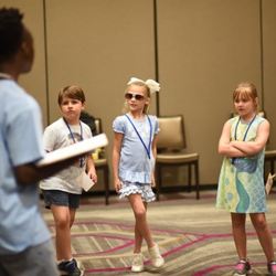 Campers learned about singing, acting and dancing at Graceland