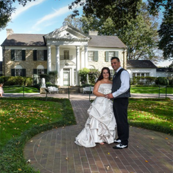 Andrew and Susanne Buck of Kings Park, New York renewed their vows at Graceland's Chapel in the Woods on November 3, 2016, in celebration of their 10th anniversary.