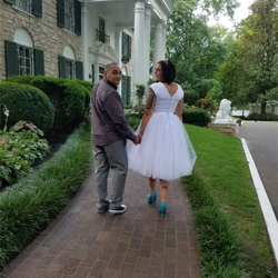 Linsey and Alex Roldan of California were married at Graceland's Chapel in the Woods on September 1, 2017.