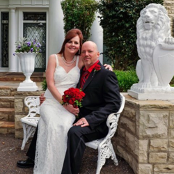 Barbara and John Bolinger of Morgantown, West Virginia, were married on April 21, 2015 at Graceland.