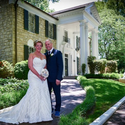 Rita Steele and Wayne Free from Montpelier, Virginia, were married at Graceland's Chapel in the Woods on May 1, 2015.