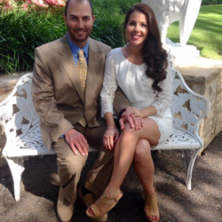 Meaghan & Anthony Palasini of Leland, Mississippi, were married at the Chapel at Graceland on May 23, 2015.
