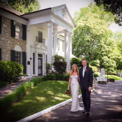 James & Joanne Nardello from Rutherford, New Jersey, celebrated their 25th wedding anniversary by renewing their vows at Graceland's Chapel in the Woods on June 12, 2015.