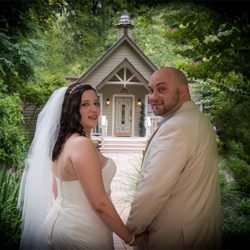 Lisa Marie Greenwell and Timothy Merideth from Louisville, Kentucky were married at the chapel on June 6, 2015.