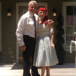 Carmen and Robert Ventrelli celebrated 30 years of marriage by renewing their vows on July 28, 2015.