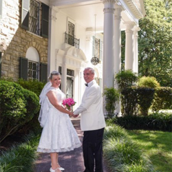 Beverley Hughes and Dennis Williams from Manchester, UK, were married at the chapel on Sept. 23, 2015.