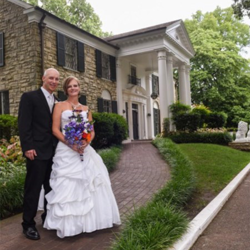 Kristine Hilgart & Bryan Tinney from Cabool, Missouri, were married on July 4, 2015.