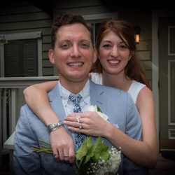 Krystal Neale and Ward Hayden of Medford, Massachusetts, were married on October 10, 2015.