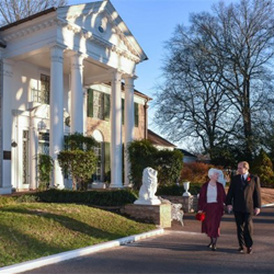Kenneth and Christine Miller of Lexington, Kentucky, were married at Graceland