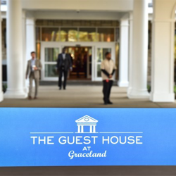 The Guest House at Graceland was officially opened with ribbon cutting ceremonies.