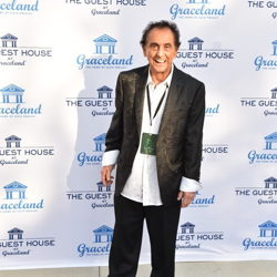 George Klein walked the blue carpet.