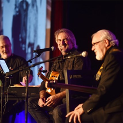 The Elvis Unplugged concert featured David Briggs, Andy Childs and Norbert Putnam. The guys talked about Elvis