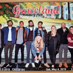 Indie-folk band Lord Huron and crew.