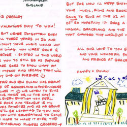 Hayley and her son, Dylan, sent this letter from the UK.