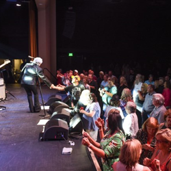 Fans loved the Marty Stuart concert at The Guest House at Graceland.
