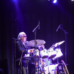 Sun Records drummer W.S. Holland played drums during the Million Dollar Quartet session, and he joined Marty Stuart on stage at The Guest House at Graceland.