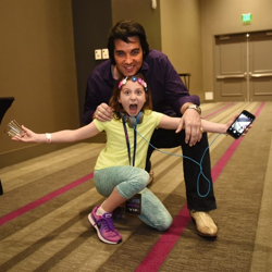 Fans of all ages had a blast meeting with the Ultimate Elvis Tribute Artists.