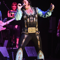 David Lee loves Elvis. He has an Elvis memorabilia collection of more than 10,000 pieces.