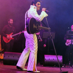 ETAs compete at Celebrating Elvis in Malta on January 17. Aaron Barbara won this contest.