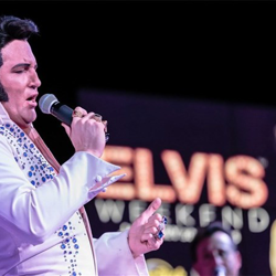 Tribute artists perform at the Hard Rock Hotel and Casino Sioux City during Elvis Weekend, January 30-31.