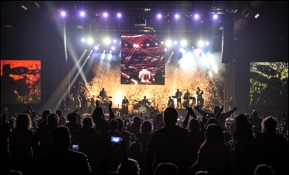 Fans from around the world gathered at Graceland for the first-ever Holiday Concert Weekend.