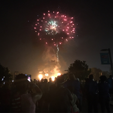 Watch Graceland's 4th of July Elvis-Themed Fireworks Display