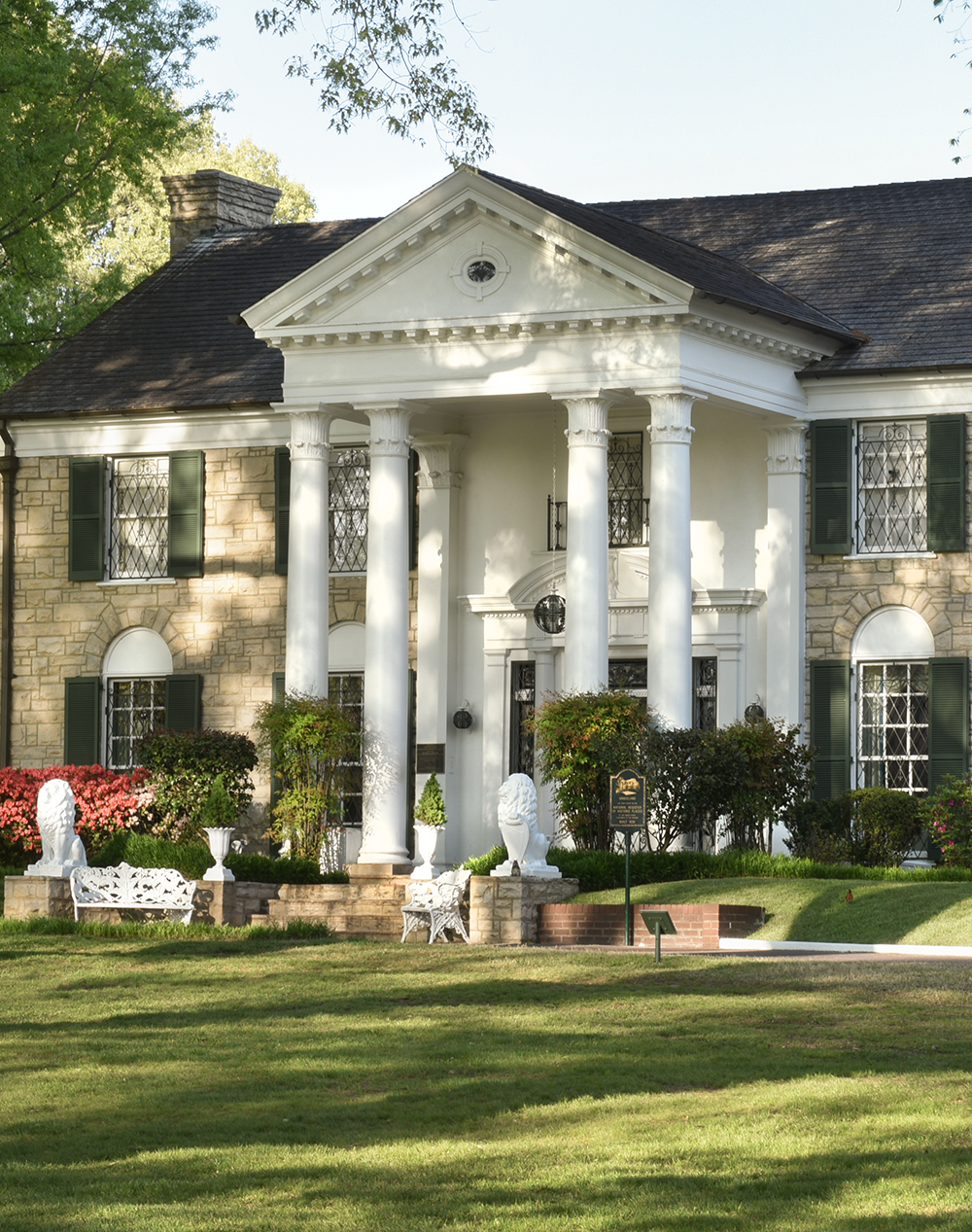Graceland in Memphis, TN