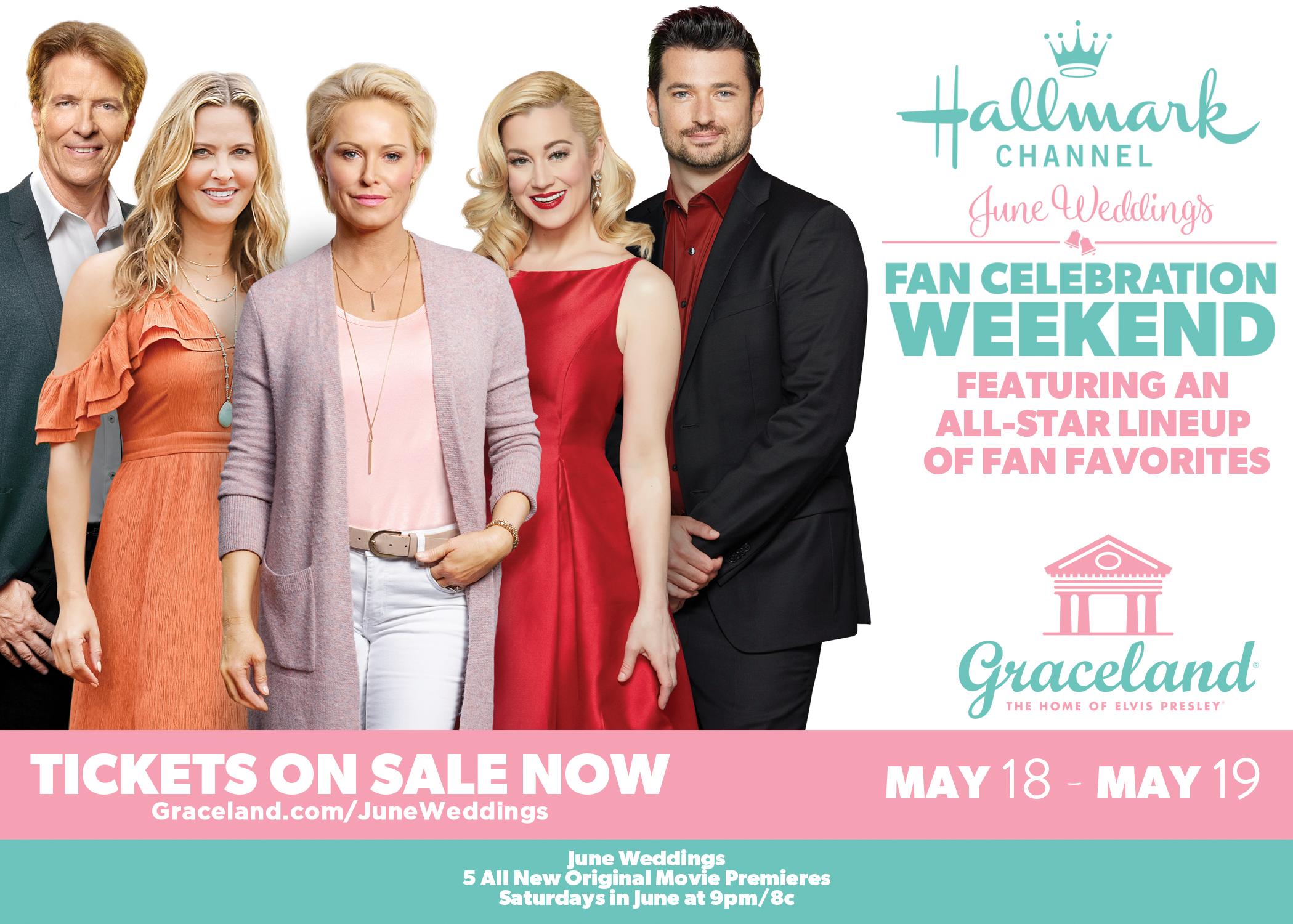Hallmark Channel's June Weddings Fan Celebration