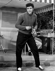 """Jailhouse Rock"" premiered October 17, 1957 in Memphis, Tennessee. It opened nationwide in November."